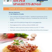 Souper spaghetti-bingo